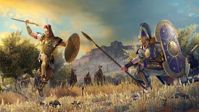 A Total War Saga: Troy y su lanzamiento físico en PC