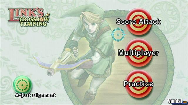 Nuevas imágenes de Link's Crossbow Training
