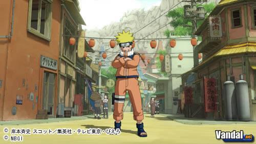 Primeras imágenes de Naruto: PS3 Project