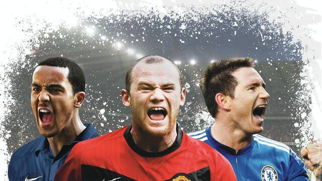 Rooney, Lampard y Walcott son la portada de FIFA 10 en Reino Unido