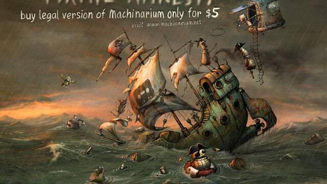 Machinarium, de oferta por una 'amnistía pirata'