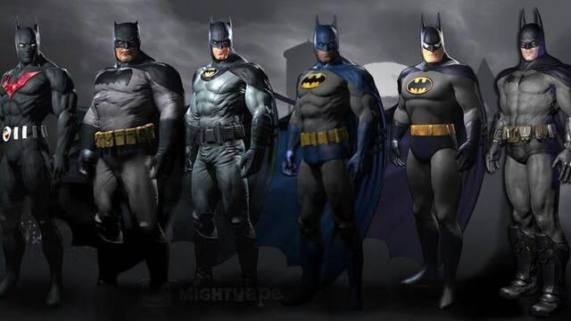 Se muestran los trajes descargables de Batman: Arkham City