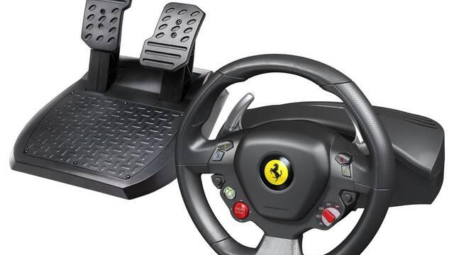 Se anuncia un nuevo volante exclusivo de Ferrari para Xbox 360