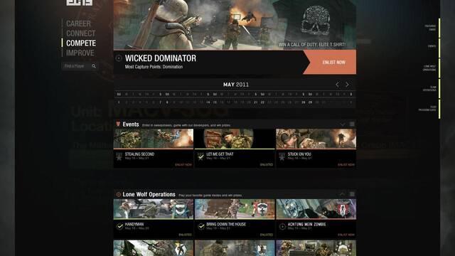 Nuevas imágenes de Call of Duty Elite