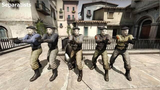 El nuevo Counter-Strike incluye una facción inspirada en ETA