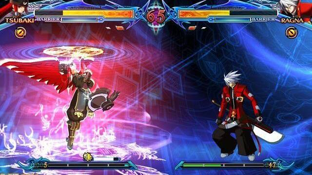 Tsubaki protagoniza las nuevas imágenes de Blazblue Chrono Phantasma