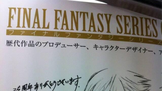 Tetsuya Nomura ilustra a Noctis con motivo del 25º aniversario de Final Fantasy