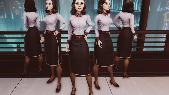 Mostrado el aspecto de Elizabeth en los nuevos contenidos de Bioshock Infinite