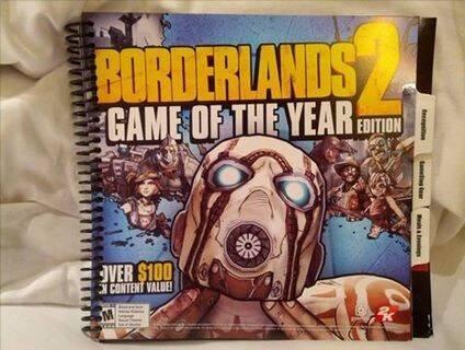 Borderlands 2 tendrá edición Juego del año