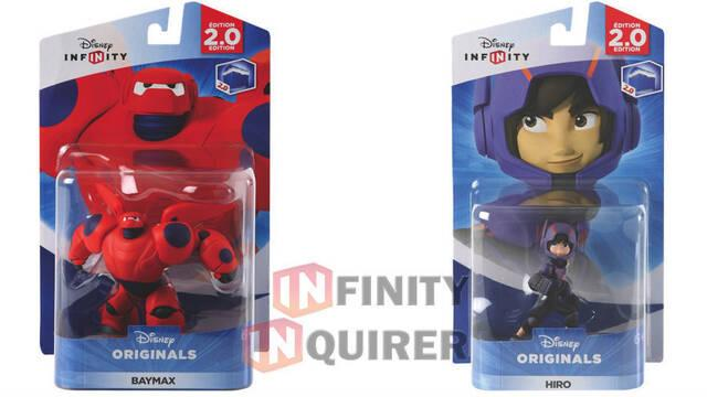 Los dos protagonistas de Big Hero 6 estarán en Disney Infinity 2.0
