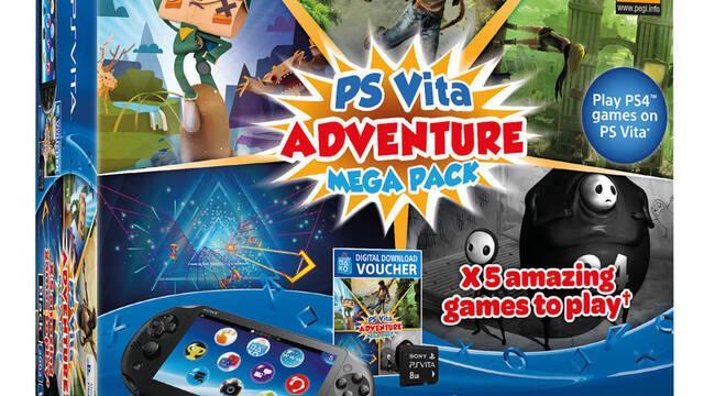 Anunciado un nuevo Mega Pack para PS Vita
