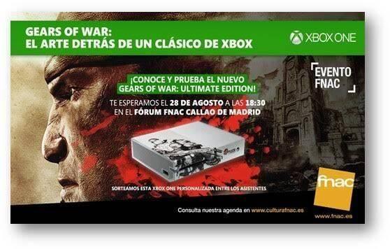 Microsoft celebra el lanzamiento de Gears of War: Ultimate Edition con un encuentro con fans en Madrid