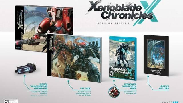Detallada la edición especial de Xenoblade Chronicles X para América
