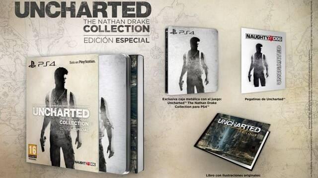 Así es la edición especial de Uncharted: The Nathan Drake Collection