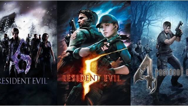 Capcom muestra en vídeo las remasterizaciones de Resident Evil 4, 5 y 6