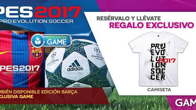 GAME detalle su campaña de reservas e incentivos para PES 2017