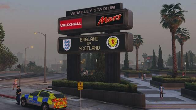 Un mod quiere que los jugadores recorran Londres en Grand Theft Auto V