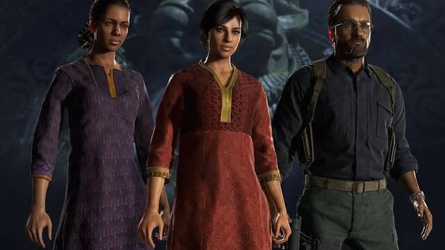 El contenido de El Legado Perdido llega al multijugador de Uncharted 4