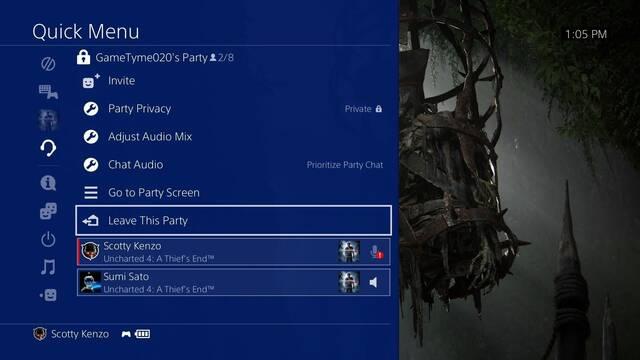 PlayStation 4 se actualiza con el firmware 5.00