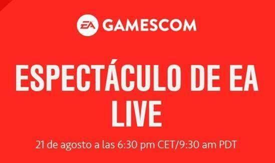 EA emitirá su conferencia de la Gamescom el día 21 a la 18:30