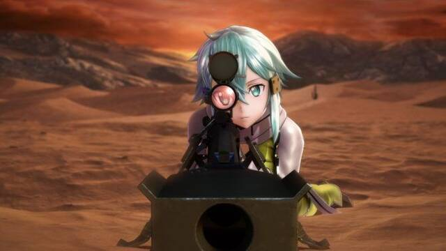 Sword Art Online: Fatal Bullet presenta su primer gameplay