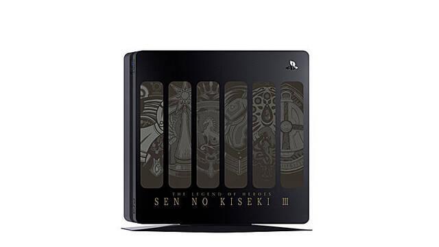 Anunciado un modelo de PS4 con decoración de Trails of Cold Steel III