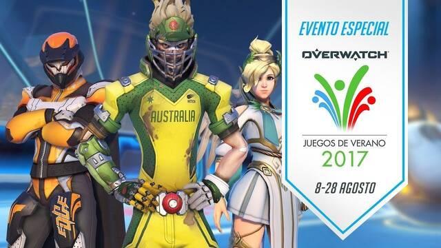 Los Juegos de Verano 2017 ya están disponibles en Overwatch