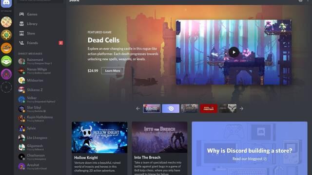 Discord diversifica su negocio y comenzará a vender videojuegos