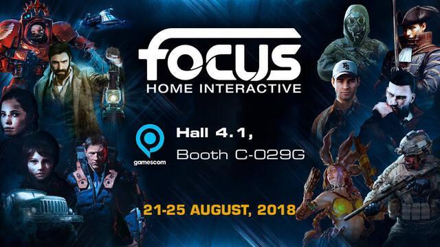 Focus Home Interactive anuncia los juegos que llevará a la Gamescom 2018