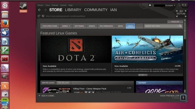 Valve está trabajando para llevar los juegos de Steam y Windows a Linux