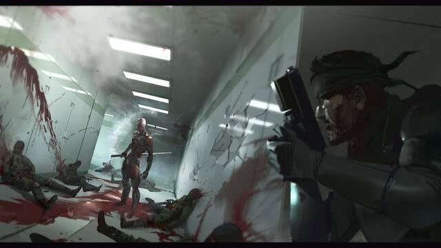 Estas son todas las ilustraciones de la película de Metal Gear Solid
