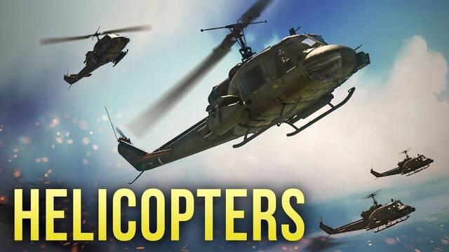 Los helicópteros de combate llegan a War Thunder pronto