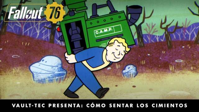La construcción y la artesanía protagonistas del nuevo tráiler de Fallout 76