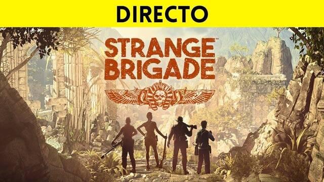 Jugamos en directo a Strange Brigade a partir de las 19:00