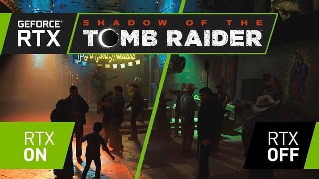Así es la espectacular iluminación de Shadow of the Tomb Raider con Ray Tracing
