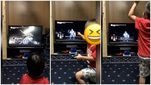 A 5-Year-Old Boy Defeats One Of The DARK SOULS III Bosses
