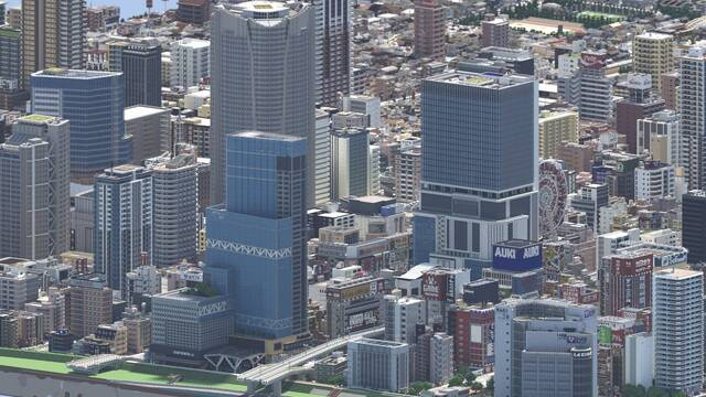 Recrean con gran detalle varias ciudades de Japón en Minecraft