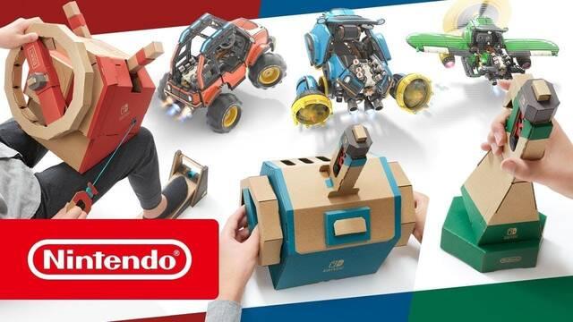 Nintendo detalla en vídeo el Nintendo Labo Toy-Con Kit de vehículos