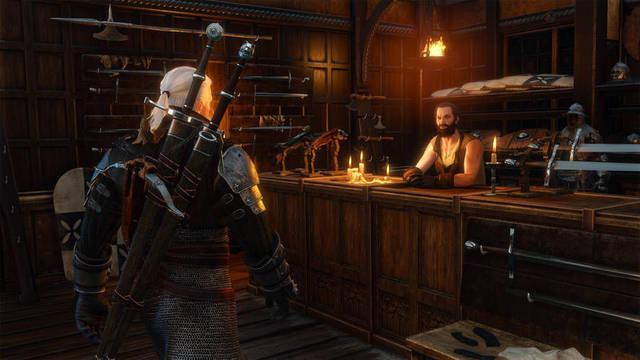 Crafteo de armas en The Witcher 3: Wild Hunt