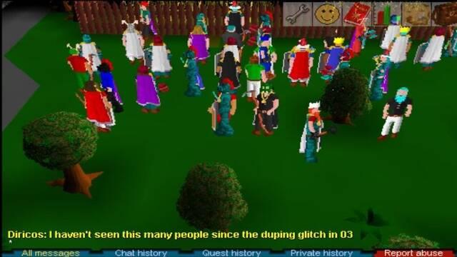 Los desarrolladores esperaron a cerrar RuneScape por un jugador