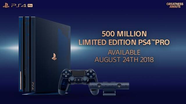 Presentada la PlayStation 4 Pro 500 Million Limited Edition