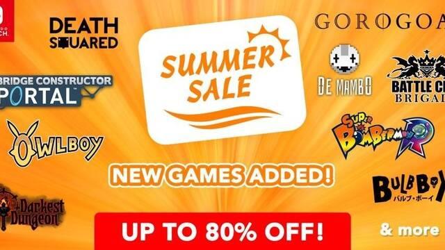 Nuevas ofertas de verano de eShop para Switch y 3DS hasta el 23 de agosto