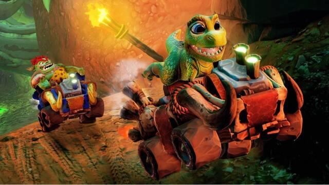 Cómo conseguir a Baby T-Rex en Crash Team Racing Nitro-Fueled
