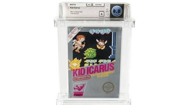 Un cartucho precintado de Kid Icarus para NES podría venderse hoy en 10.000 dólares