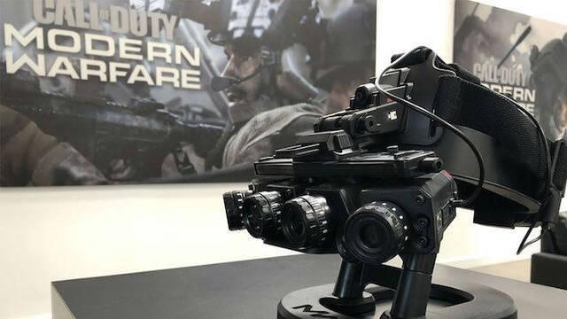 Call of Duty: Modern Warfare presenta su Dark Edition con gafas de visión nocturna reales