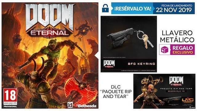 GAME anuncia su incentivo por reserva exclusivo para DOOM Eternal