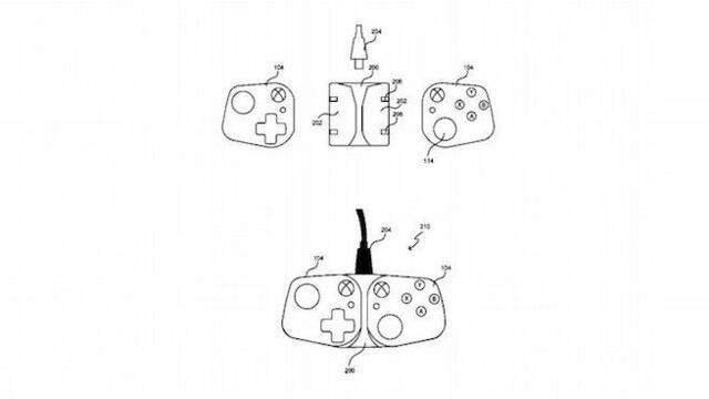 Microsoft diseña un mando para xCloud en smartphones que recuerda a los Joy-Con