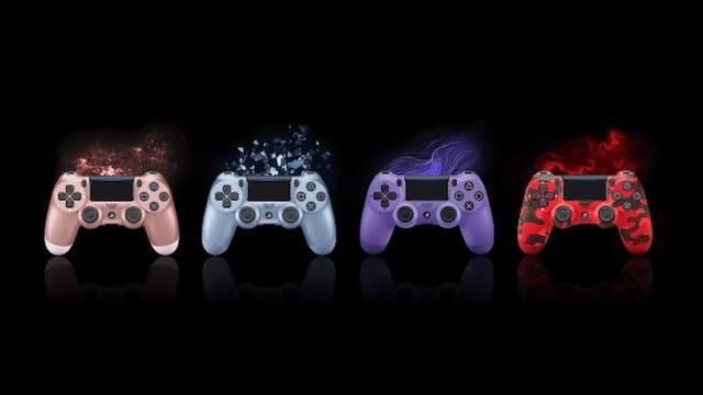 Sony presenta nuevos colores y modelos para el DualShock 4 de PS4