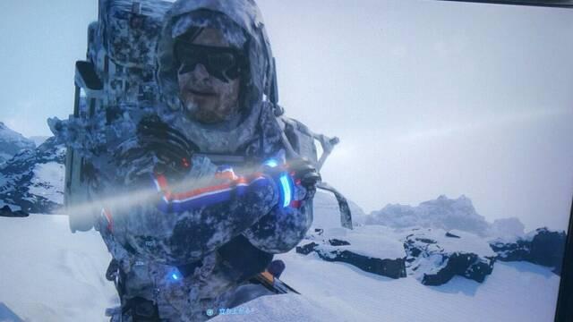 Death Stranding: Hideo Kojima nos muestra los paisajes helados del juego y su cielo