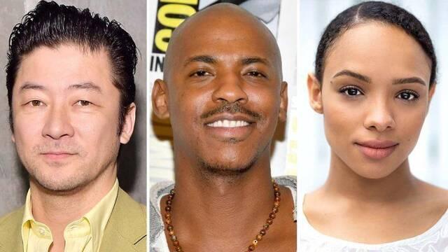 Mortal Kombat: Los actores de Liu Kang, Raiden, Mileena y Jax Briggs en el cine